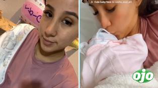 Samahara Lobatón comparte video de su segunda noche como mamita | VIDEO