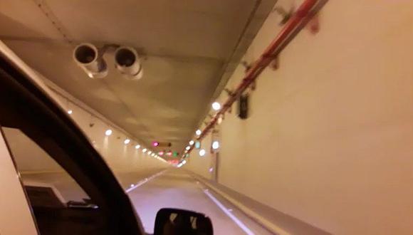 Así luce el recién inaugurado túnel de Gambetta (VIDEOS)
