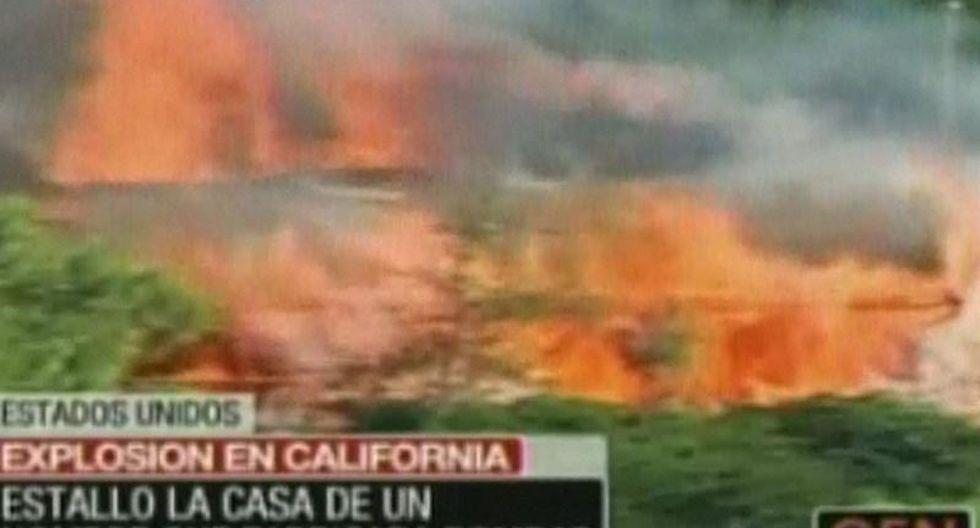 EEUU: Casa de 'hombre bomba' explotó en California