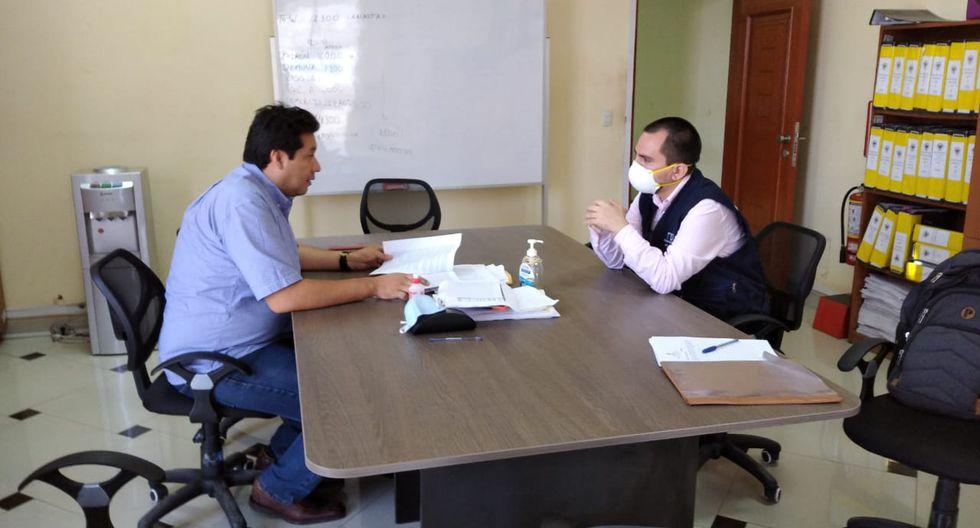 Fiscalía inspeccionó anteayer las Municipalidades de Carabayllo, Los Olivos y Comas, como parte de la investigación preliminar abierta por las presuntas irregularidades en la adquisición y distribución de canastas de víveres. (Ministerio Público)