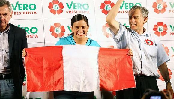 Verónika Mendoza anuncia que será oposición firme del próximo Gobierno