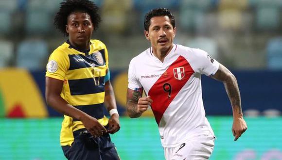 Gianluca Lapadula alabado por la cuenta oficial de la Copa América. (Foto: Selección peruana)
