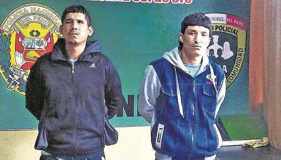 Los Olivos: Capturan a sujetos que robaban autopartes por delivery