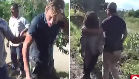 Extranjero de 28 años fue capturado cuando fugaba con una niña de 10 (VIDEO)