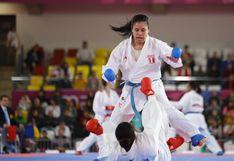 Isabel Aco no pudo vencer a venezolana y logró medalla de bronce en karate