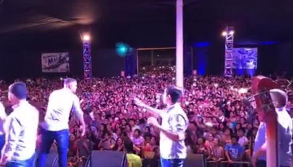 Grupo 5: multitudinario concierto se descontrola en Piura (VIDEO)