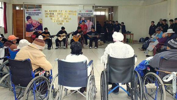 Tacna: la Beneficencia decidió declarar en emergencia el albergue y activar los protocolos de bioseguridad. (Foto: Beneficencia Pública de Tacna)