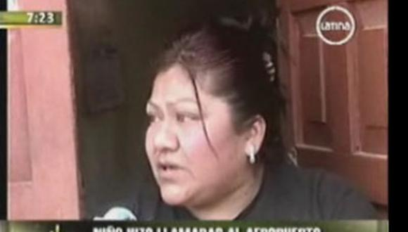 Mamá del niño que se hizo pasar por terrorista pide disculpas