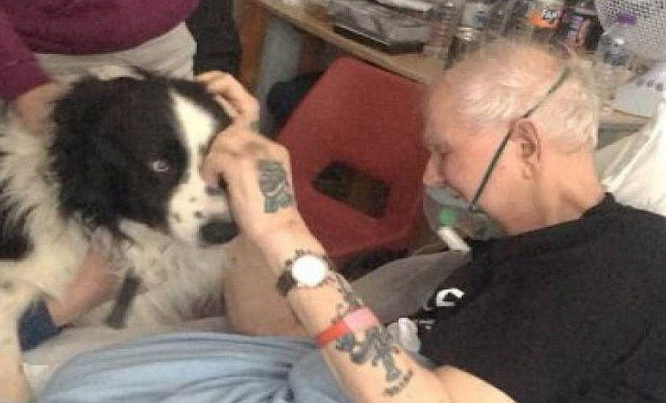 Enfermeras le conceden último deseo a hombre moribundo