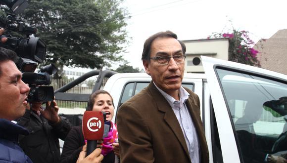 Martín Vizcarra aprovechó el caudal que le dejó la popularidad que logró durante su gobierno, señalan expertos. (Foto: Leandro Britto/GEC)