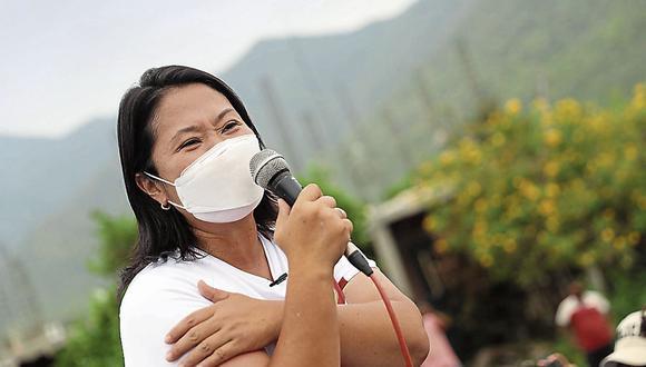 """Fujimori Higuchi indicó que la población podrá ver si Castillo Terrones """"se atreve a llegar"""" para llevar a cabo un segundo debate tras el realizado en Chota, Cajamarca, el pasado 1 de mayo.. (Foto: GEC)"""