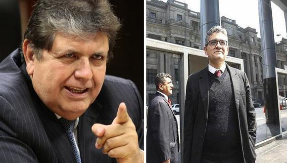 """Alan García: """"Con Pérez o sin él, en 2 años no me encontraron mis millones"""""""