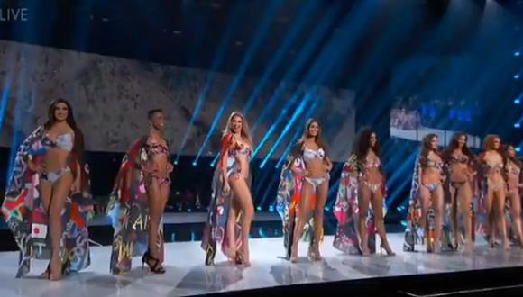 Así fue el desfile en traje de baño de Kelin Rivera en el Miss Universo 2019. (Imagen: @MissUniverse)