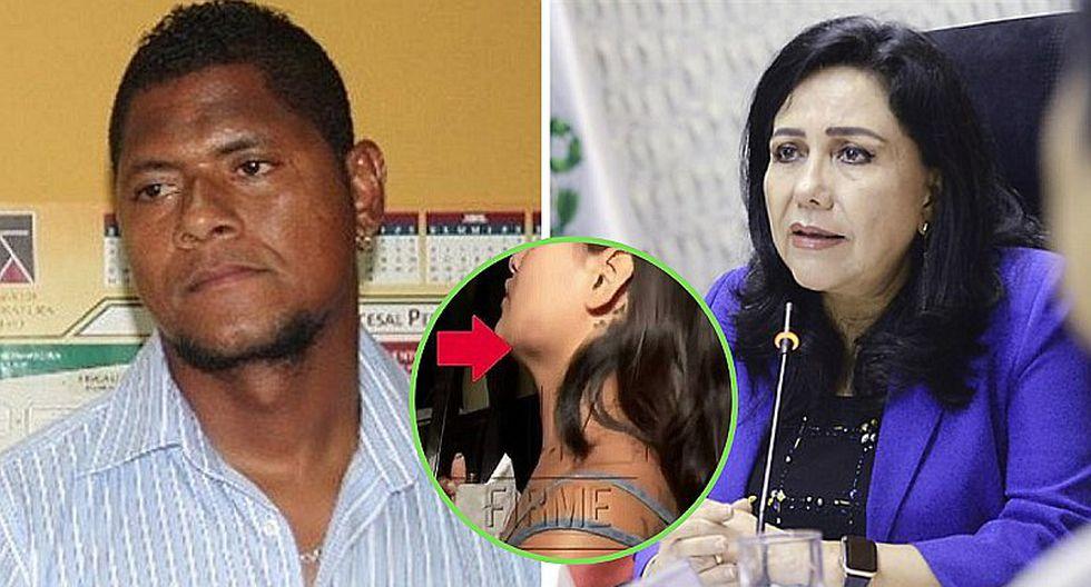 """Ministra de la Mujer exige prisión para Juan """"Chiquito"""" Flores tras agresión a su pareja"""