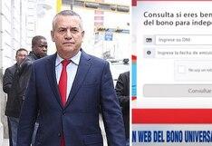 Daniel Urresti y su mensaje al enterarse que hackearon web del Bono Universal para robarse un millón de soles