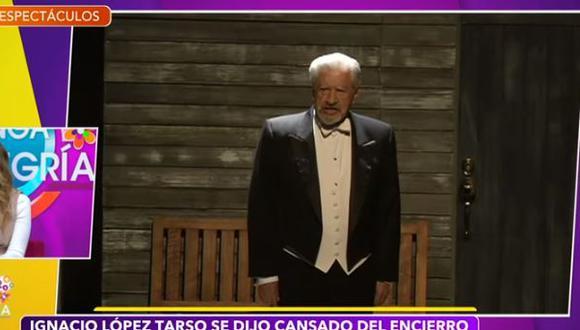 Ignacio López preocupa por su salud tras aparecer con un tanque oxígeno en entrevista. (Foto: captura de pantalla)