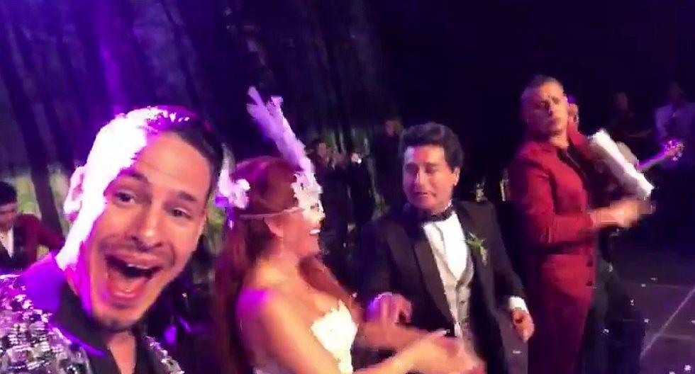 Magaly Medina: aparece video inédito de la boda del año