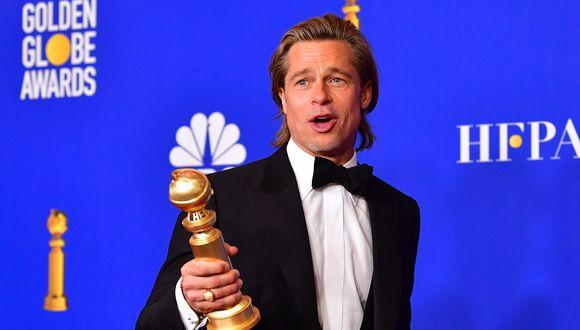 """Brad Pitt rodará la cinta de acción """"Bullet Train"""" con el director David Leitch. (Foto: AFP)"""