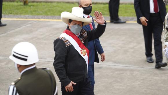 El presidente Pedro Castillo cumple funciones este lunes desde Palacio de Gobierno. (Foto: archivo twitter Presidencia Perú)