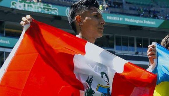 El saludo de la MLS por el aniversario de la Independencia del Perú. (Foto: Seattle Sounders)