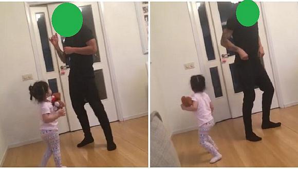"""Selección peruana: este jugador baila """"Despacito"""" con su hijita (VIDEO)"""