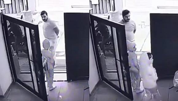 Niño es secuestrado en la puerta de su casa y todo queda registrado en video