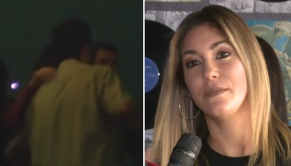 """Ex pareja de Tilsa Lozano, """"Miguelón"""", es captado cariñoso con una mujer (VIDEO)"""