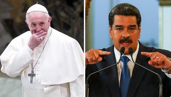 Papa Francisco responde a Nicolás Maduro y no lo llama presidente