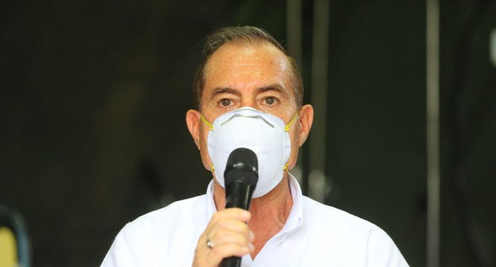 Martos indicó que se evalúa tomar nuevas medidas de prevención. (Foto: Difusión)