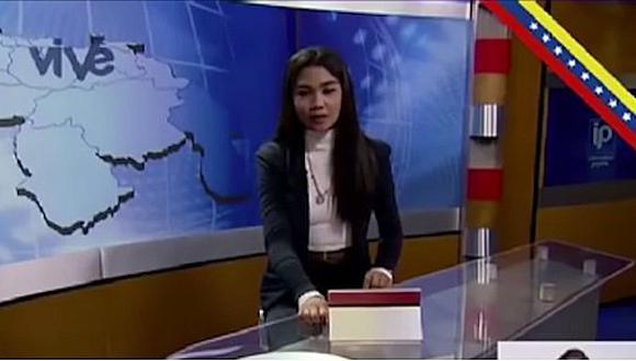 Periodista venezolana fue despedida por denunciar acoso laboral en vivo (VIDEO)