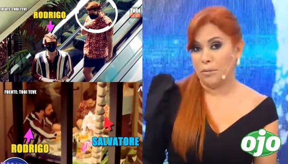 Magaly Medina comentó sobre la nueva relación de Rodrigo González. Fotos y videos: ATV | Tobi Teve