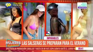 Salseras peruanas ya entrenan para este verano