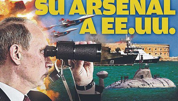 Rusia apunta su arsenal a Estados Unidos y muestra su poderío bélico