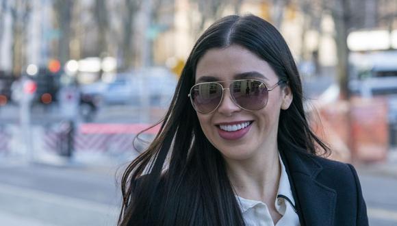 Emma Coronel se casó en 2007 con Joaquín 'El Chapo' Guzmán, fruto de su amor tienen dos hijas gemelas (Foto: Don Emmert / AFP)