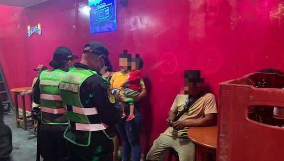 Diez menores de edad fueron rescatados en mega operativo contra la trata de personas (Foto: Ministerio Público).