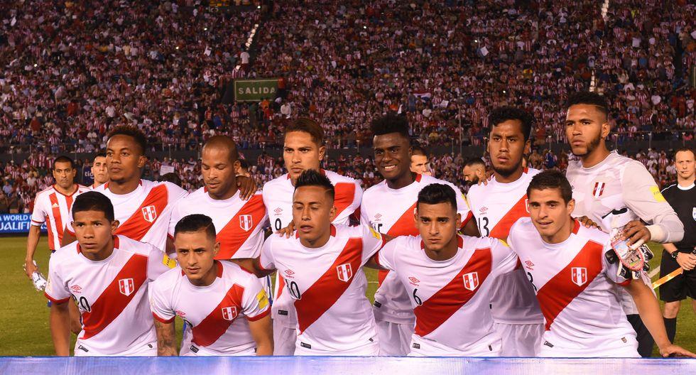 Esta fue la última selección peruana que ganó en Asunción. (Foto: AFP)