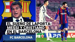 El plan de Laporta para juntar a Messi y Cristiano Ronaldo en el Barcelona