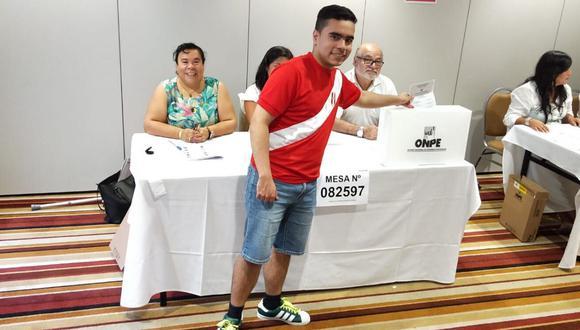 A las 6:00 p.m. del sábado en Perú  se apertura las mesas de votación en Japón.(Foto: Twitter / @CancilleriaPeru)