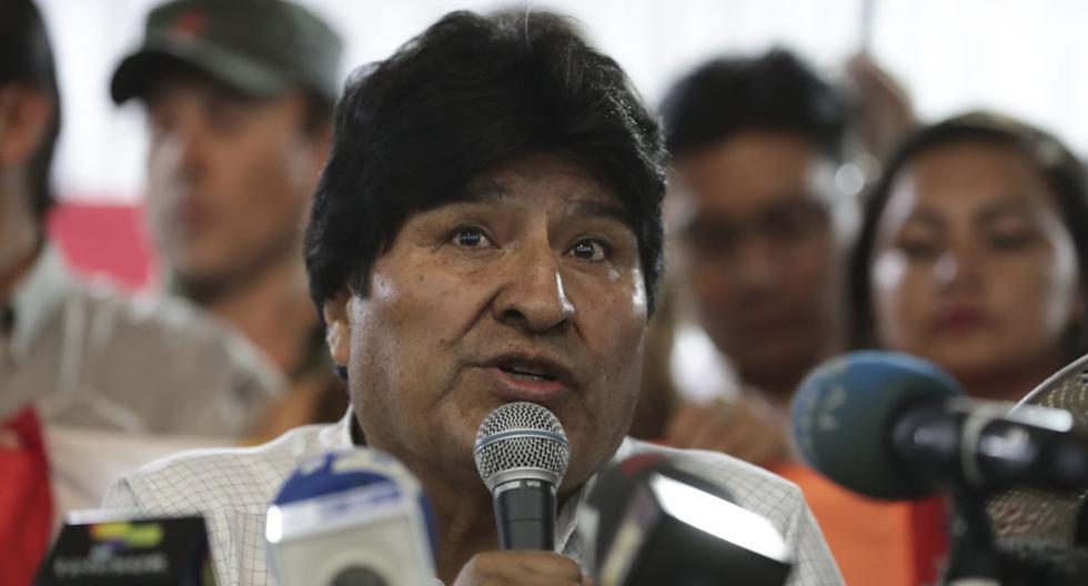 Hasta el momento Evo Morales no ha dado declaraciones sobre Choque Salomé. (AFP).