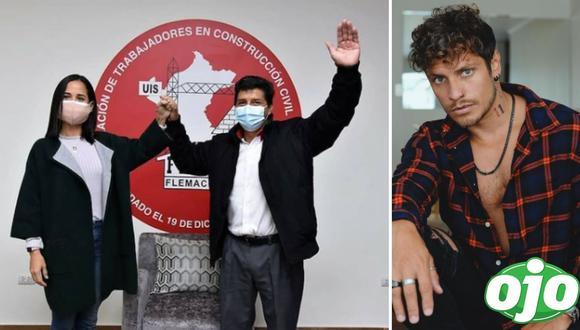 Nikko Ponce destruye a Sigrid Bazán por su apoyo a Pedro Castillo. Foto: (Instagram/@nikkooficial, @sigrid_bazan).