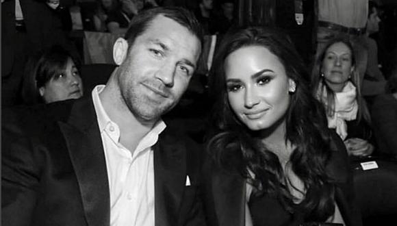 Demi Lovato afirma noviazgo con Luke Rockhold