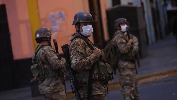 """Presidente del JNE: """"están provocando un acto sedicioso reclamando que el Ejército y las FF.AA. intervengan"""" Foto: César Grados)"""