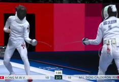 María Luisa Doig debutó en Esgrima en los Juegos Olímpicos con derrota y se despidió de Tokio 2020