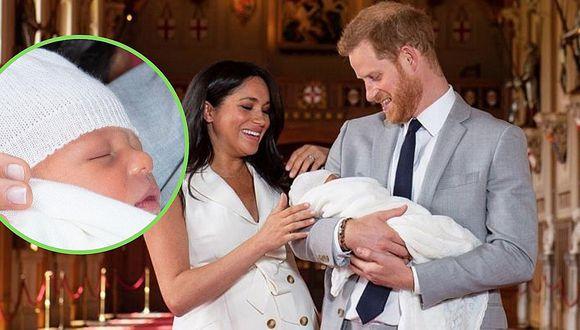 """El príncipe Harry y Meghan Markle presentan a su bebé y lo califican como """"un sueño"""" (FOTOS)"""