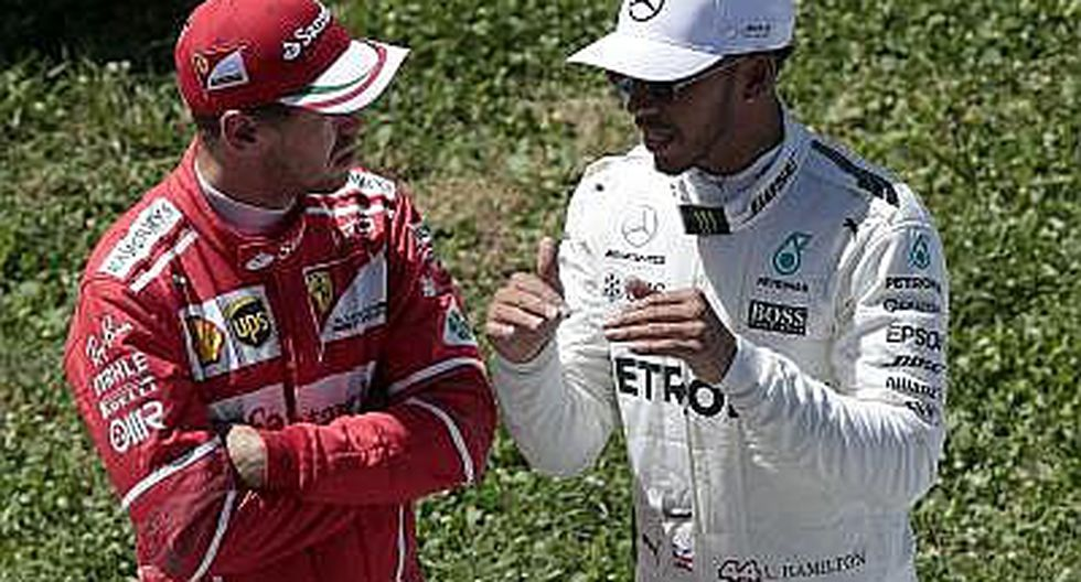 """Fórmula 1: Hamilton reta a Vettel """"si quiere probar que es un hombre"""""""