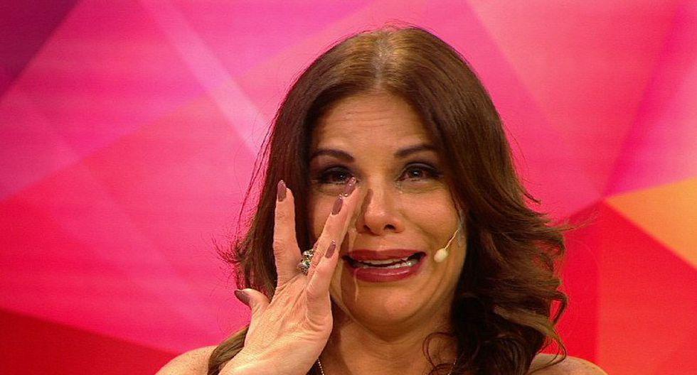 Sandra rompió en llanto tras recordar a... [FOTOS]