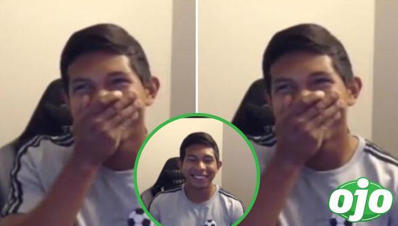 Edison Flores se vuelve viral en redes sociales. Foto: (Captura/TikTok).