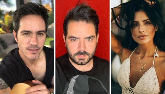 José Eduardo Derbez negó que Aislinn y Mauricio Ochmann tengan problemas ahora y en el futuro. (@aislinnderbez/ @mauochmann / @jose_eduardo92).