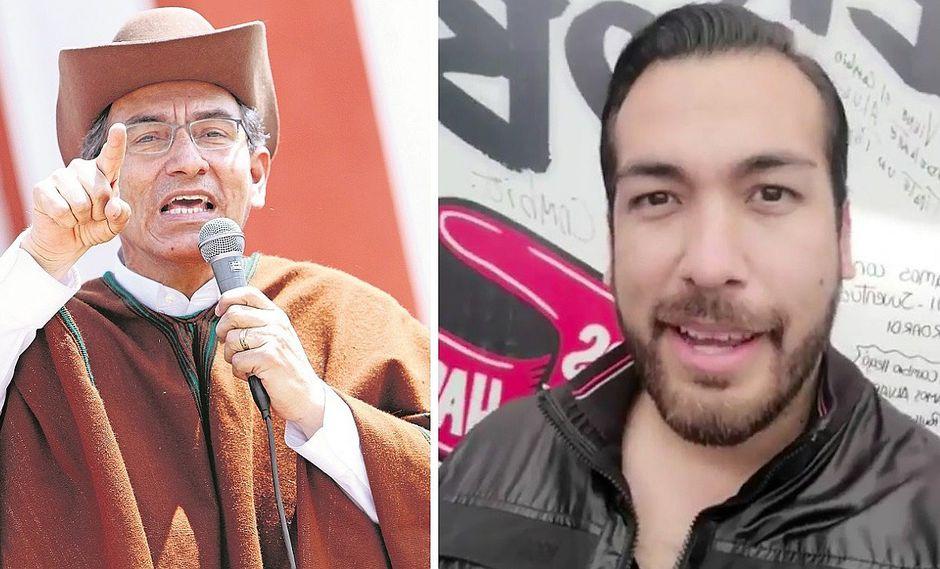 Álvaro Paz de la Barra pidió cita con Martín Vizcarra y este no le hizo caso