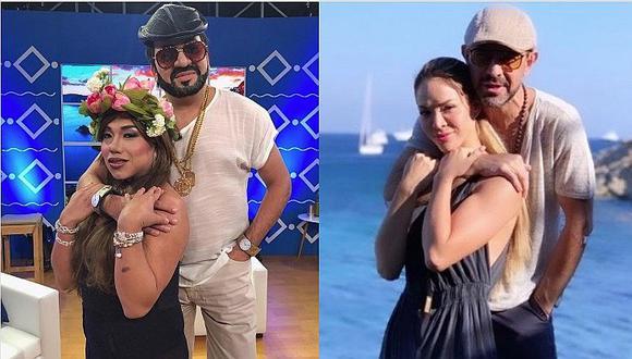 El polémico amor entre Sheyla Rojas y Fidelio Cavalli al estilo de 'El Wasap de JB'